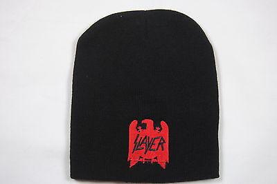 Slayer Scratch Logo Beanie Official New