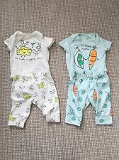 0-3 Month Boy Clothes Lot For Twins Baby Gap, Cat & Jack, Burts Bees. Organic!