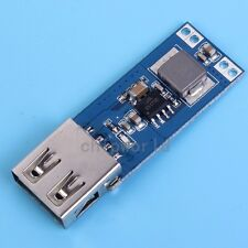2x DC-DC 3V/3.3V/3.7V/4.2V to 5V USB 2A Step Up Module Alimentazione Elettrica