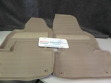 Genuine Volvo XC60 Mocca Brown All Weather Floor Mats OE OEM 39822900