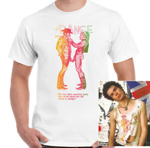 Sid-Vicious-T-Shirt-Mens-Naked-Cowboys-LGBT-As-Worn-By-Unisex-Top-Sex-Pistols