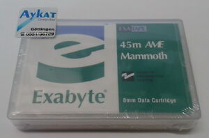 Exabyte-EXATAPE-034-8-mm-45-M-Ame-P-N-00548-5-3-10-6gb-Nouveau-neuf-dans-sa-boite