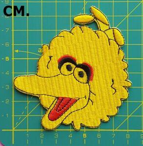 Details About Sesame Street Big Bird Cookie Monster Sesame Street Elmo Cartoon Iron On Patch