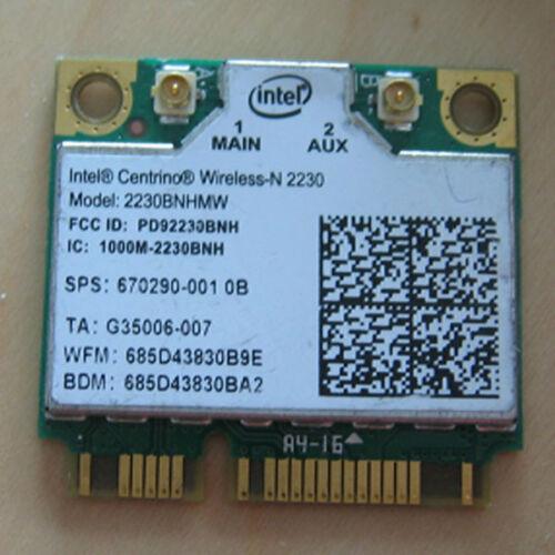 670290-001 2230 WIRELESS N BLUETOOTH BT WIFI MINI Half CARD for INTEL HP COMPAQ