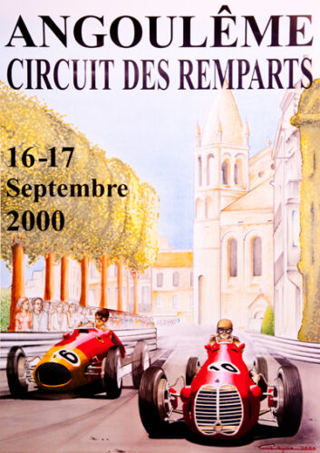 Remparts 2000 Race poster print A3