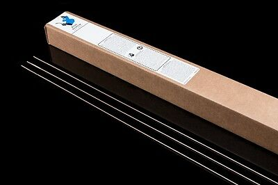 """RBCuZn-D X 3//32/"""" X 36/"""" X 10 lb box TIG rods Nickel Silver Bare welding wire"""