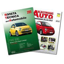 1 Manuale tecnico riparazione/manutenzione + 1 Manuale Diagnosi Auto - Fiat 500