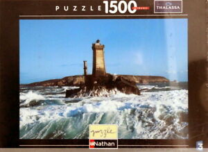 Nathan-Puzzle-87480-Thalassa-1500-Pieces-Le-Phare-de-la-Vieille-Pointe-du-Raz