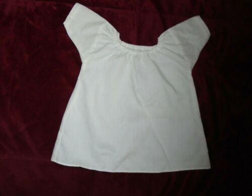 1993 American Girl Doll Felicity WHITE SHIFT SLIP UNDER GARMENT GOWN Pleasant Co
