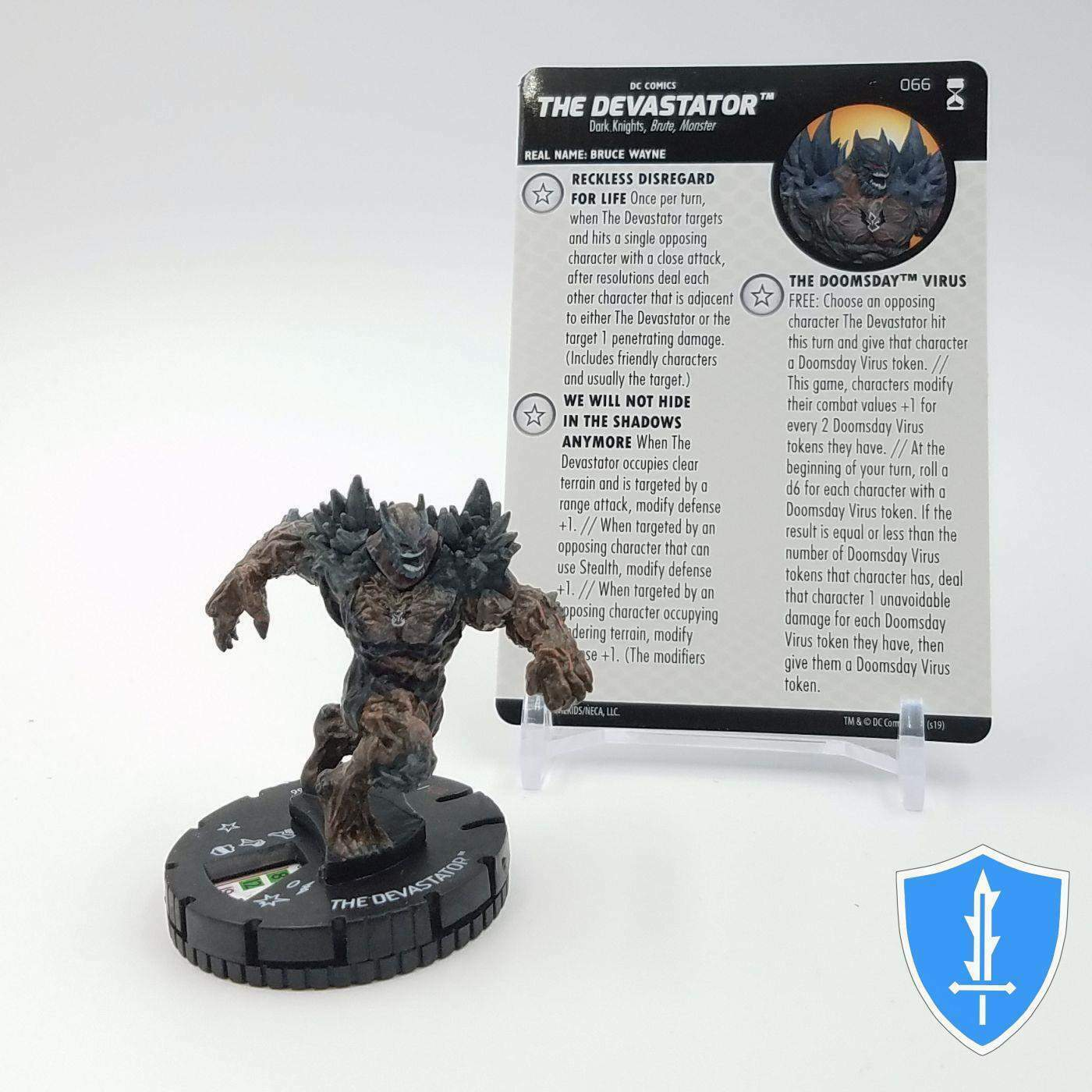 The Devastator - 066 DC Rebirth HeroClix Miniature Chase