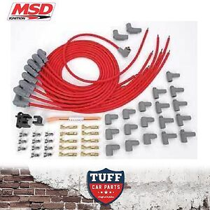 MSD-31239-V8-Universal-Lead-Set-90-Boot-8-5mm-Super-Conductor-Spark-Plug-Leads