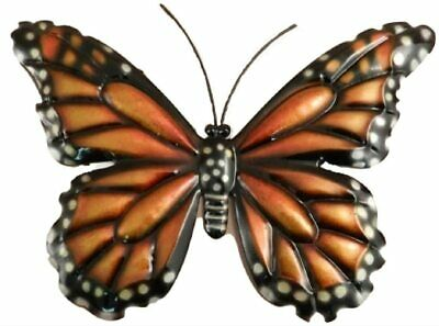 Monarch Butterfly Metal Wall Hanging by The Prairie Schooner