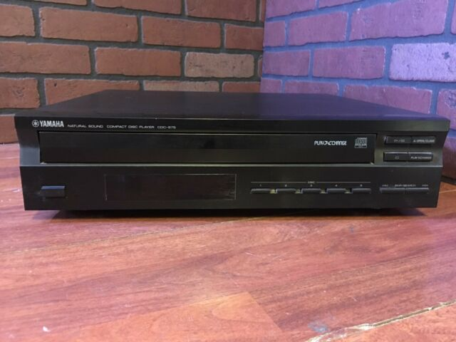 Yamaha CDC-575 Natural Sound Compact 5 Disc Player Changer