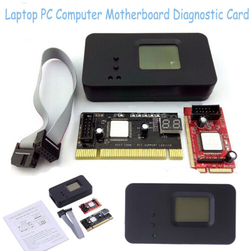 3in1 Sintech Laptop Mini Pci E Pc Pci Diagnostic Test Tester Debug Post Card Lpc Jolash Pl