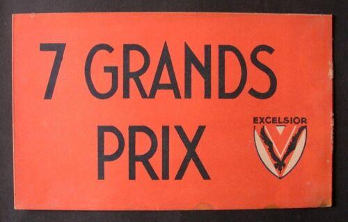 COUVRE CHEF TOQUE CHAPEAU publicitaire orange BIERE EXCELSIOR Tour de France