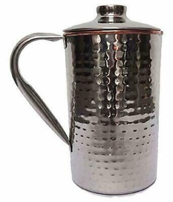 Stahl Kupfer Gehämmert Wasserkaraffe Servierware Geschirr Für Home Restaurant Metallobjekte Gefertigt Nach 1945