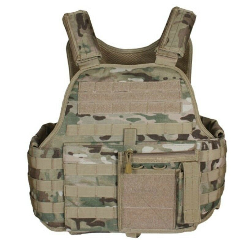 FOX TACTICAL VITAL PLATE CARRIER VEST 65-219   MULTICAM - NEW
