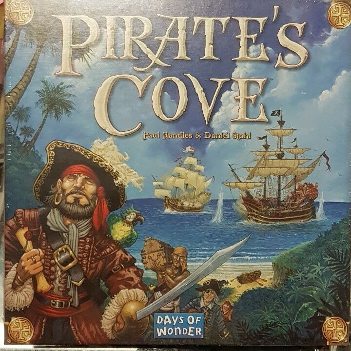 Pirates Cove - Boardgame english edition Day's of Wonder