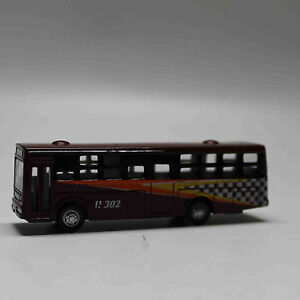 N-Scale-Railway-1-160-Diecast-Mini-Buses-Model-Brown
