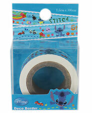 Disney Lilo & Stitch Decorative Stickers Craft Adhesive Tape # 003