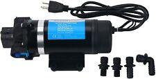 Ac110v Water Pressure Pump Self Priming Pump 160psi Diaphragm Pump For Rv Marine