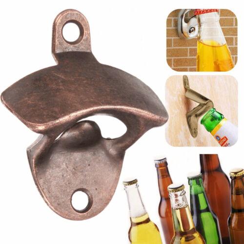 Bar Beer Soda Cap Outils Décapsuleur Fixe Ouvre-bouteille Fixe Murale dm