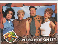 FLINTSTONES THE MOVIE 1994 TOPPS COMPLETE BASE CARD & STICKER  SET