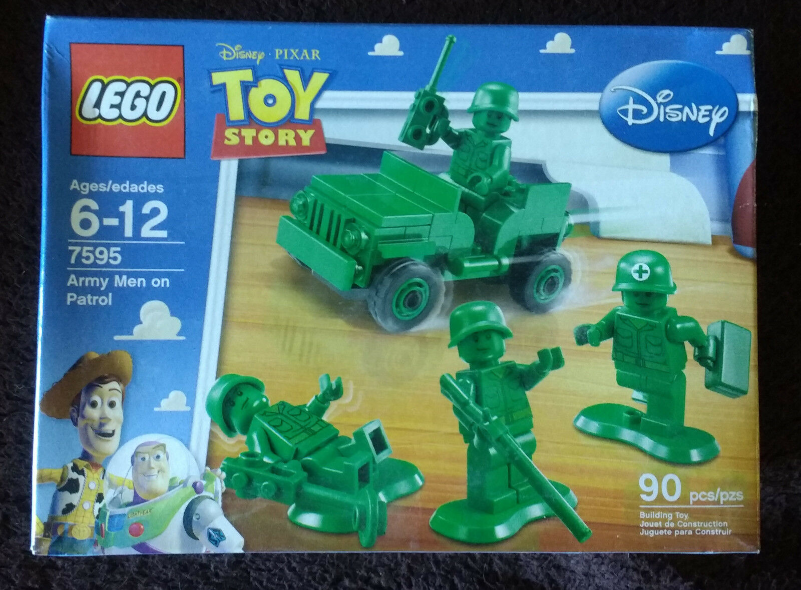 Lego Toy Story Army Men on Patrol (7595) + Army Jeep (30071) New MISB OOP