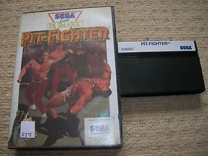 PIT-FIGHTER-Rare-Boxed-Sega-Master-System-Game