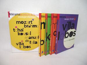 Telerama-LES-TRESORS-DE-LA-RADIO-Musique-Classique-INA-Lot-Coffret-4-Livres-CD