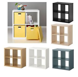 Ikea 1 2 cube storage display kallax shelving unit for Ikea box shelf unit