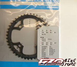 Corona-guarnitura-bici-MTB-44-denti-SHIMANO-BCD-104mm-alluminio-Y1FM98100