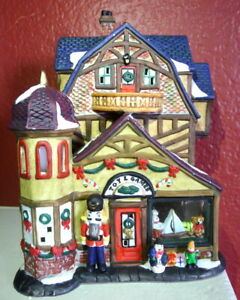 Grandeur Noel Victorian Village Toy  Games Shop Replacement 2000 Nutcracker
