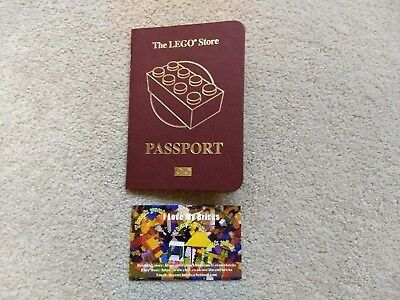 2017 /' Lego Passport/' // to Collect Lego Lego Store Passport New Unused