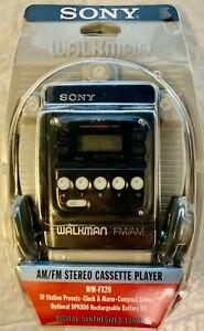 Sony Walkman FM/AM Radio/Cassette Player WM-FX20- Vintage- New