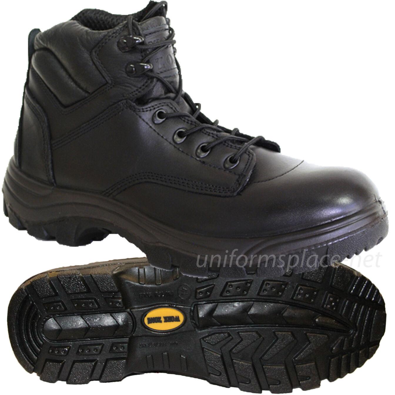 Zona de trabajo botas Hombre 6  compuesto safety-toe Cuero Negro Slip   resistente al aceite
