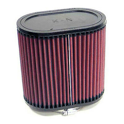 K/&N RU-1540 Universal Oval Straight Rubber Air Filter