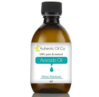 Avocado oil 100% Pure 5ml 50ml 100ml 250ml 500ml 1 litre