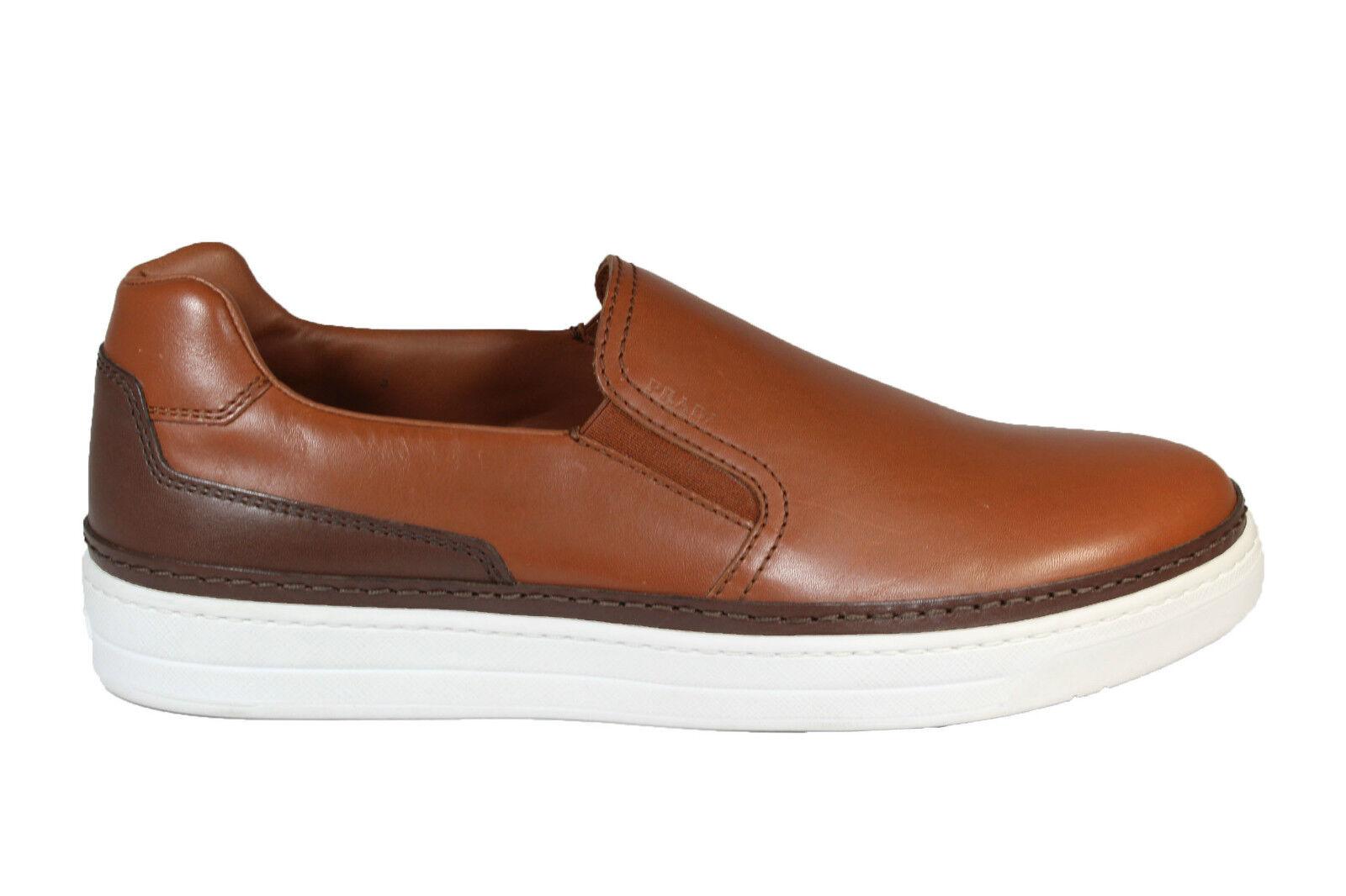 PRADA leather slip on zapatillas S S 2016 slip on in pelle P E 2016