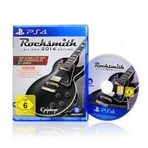 PS4-Spiel-ROCKSMITH-ALL-NEW-2014-Edition-Gitarre-lernen-Playstation-4