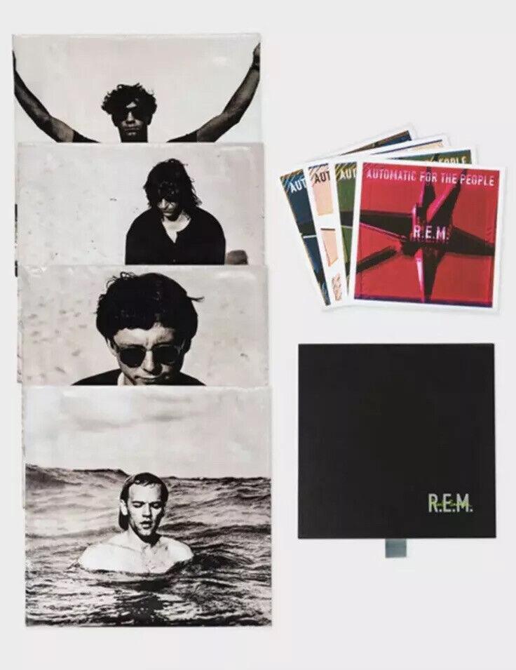 PAUL SMITH x R.E.M. REM silk pocket square & art box set handkerchief x 4