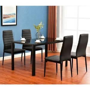 Black Dinner Table Summervilleaugusta Org