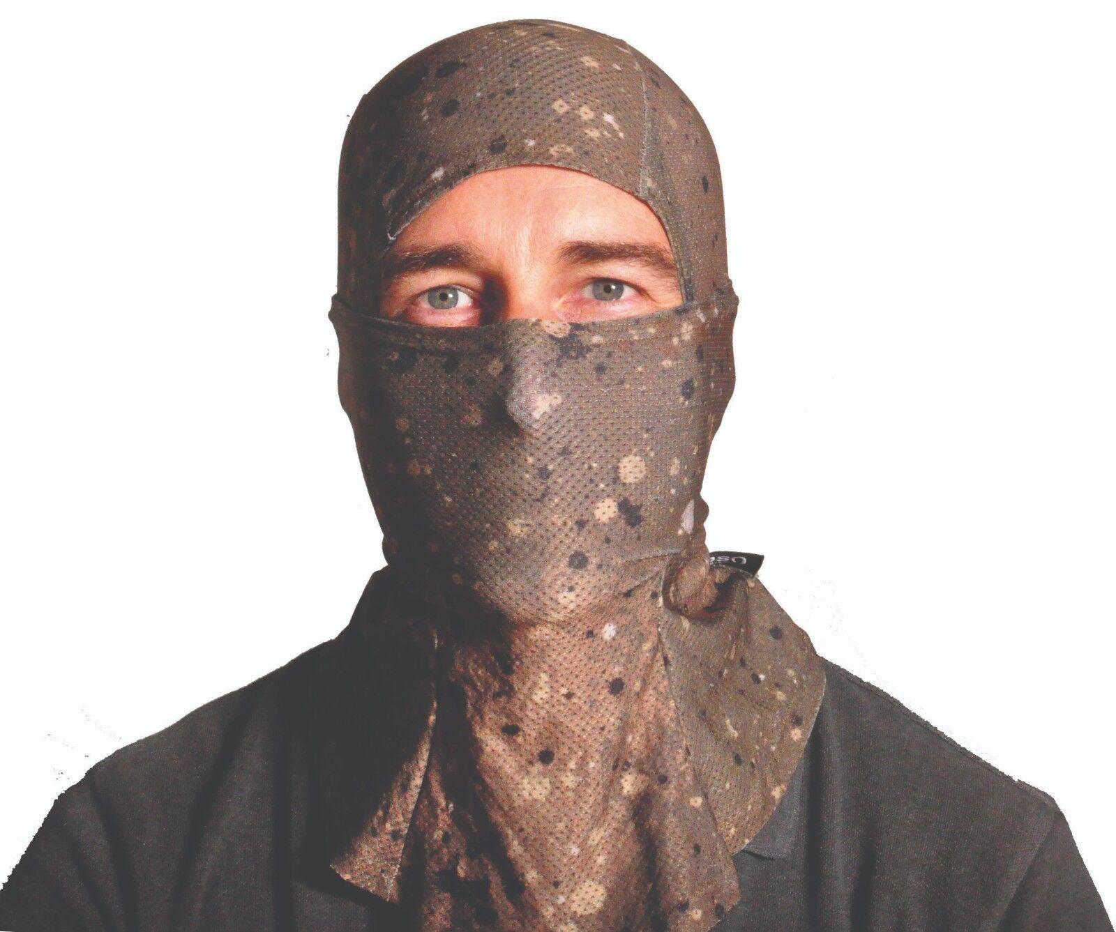 Commando camuflaje Balaclava Táctico Máscara, Seco encajan Máscara