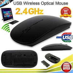 Slim 24 GHz USB Optical Wireless Cordless Scroll Mouse UK PC Mac Laptop iMac - London, United Kingdom - Slim 24 GHz USB Optical Wireless Cordless Scroll Mouse UK PC Mac Laptop iMac - London, United Kingdom