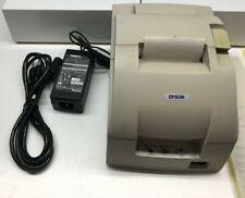 Epson Tm U220pd M188d Receipt Printer With Power Adapter
