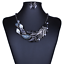 Fashion-Jewelry-Crystal-Choker-Chunky-Statement-Bib-Pendant-Women-Necklace-Chain thumbnail 71