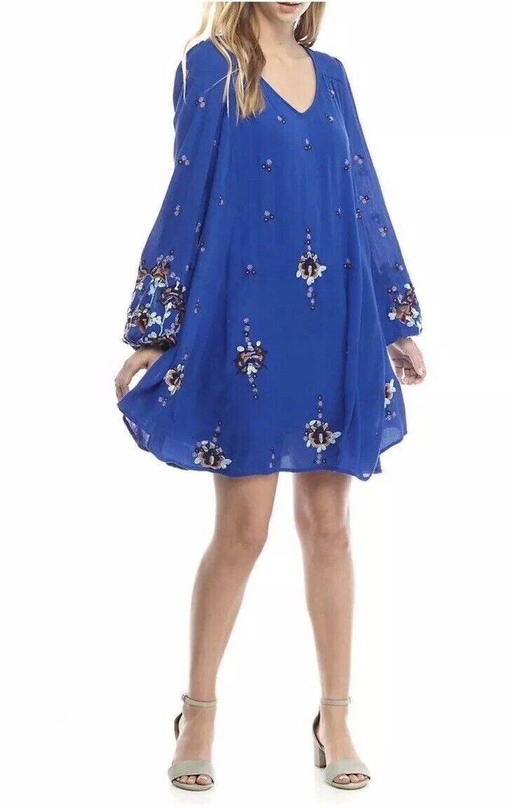 NWT Free People Boho Mini Dress Small