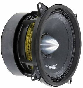 "4"" Midrange MLM-480 Mc Laren Sound Systems 8 Ohm 100 Wts 1"" VC 250Hz-8KHz"