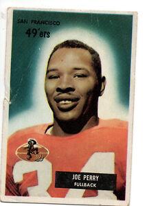 1955-Bowman-Football-Card-44-Joe-Perry-San-Francico-49ers-Hall-of-Fame