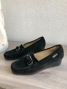 russell-bromley-Soft-Loafers-Size-37-5-Black-Suede